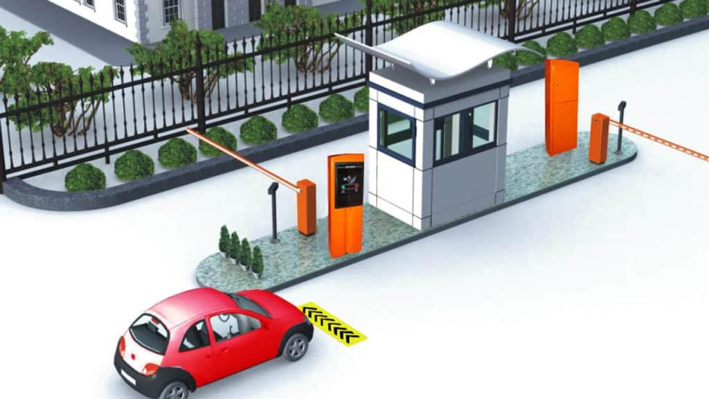 Mô hình hệ thống giữ đỗ xe thông minh
