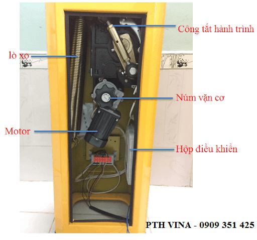 cấu tạo chi tiết barrier tự động BS-306