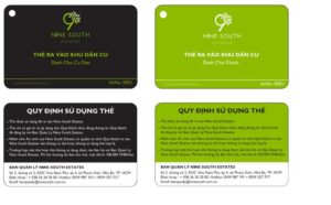 thẻ từ in màu chuyên dùng cho bãi giữ xe