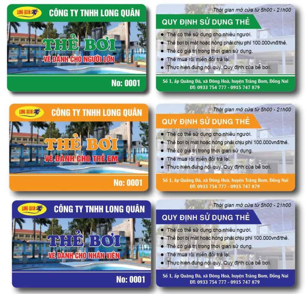 Thẻ từ dùng trong bãi xe thông minh