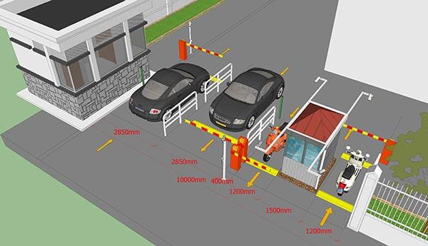 Mô hình bãi xe thông minh