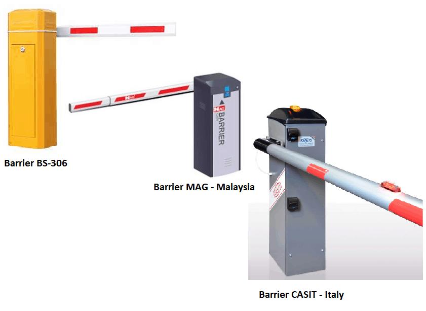 Barie tự động bãi giữ xe thông minh/ Lắp đặt barie tự động 2020