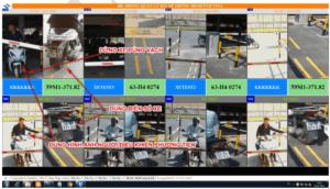 phần mềm quản lý nhận dạng biển số xe