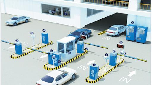 Lắp đặt hệ thống giữ xe thông minh