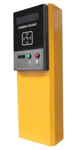 Máy phát hành thẻ tự động cho bãi xe