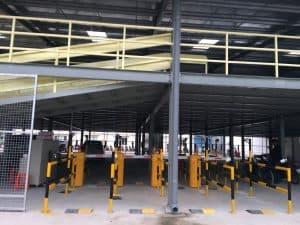 Hệ thống giữ xe thông minh PTH lắp đặt cho nhà xe Trung Đông