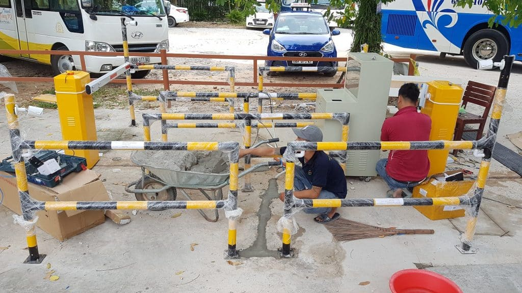 một số công trình hệ thống máy giữ xe do pth thi công lắp đặt 2