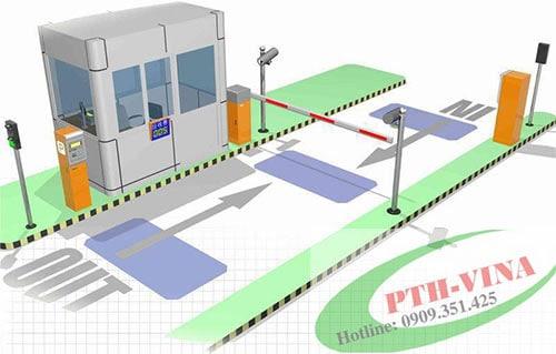 bộ dò vòng từ trong hệ thống bãi giữ xe thông minh