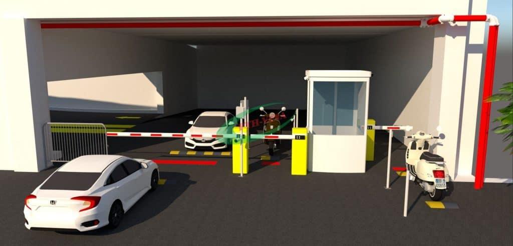 Chi phí xây dựng bãi đỗ xe thông minh