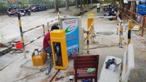 Lắp đặt máy giữ xe thông minh tại Phú Quốc
