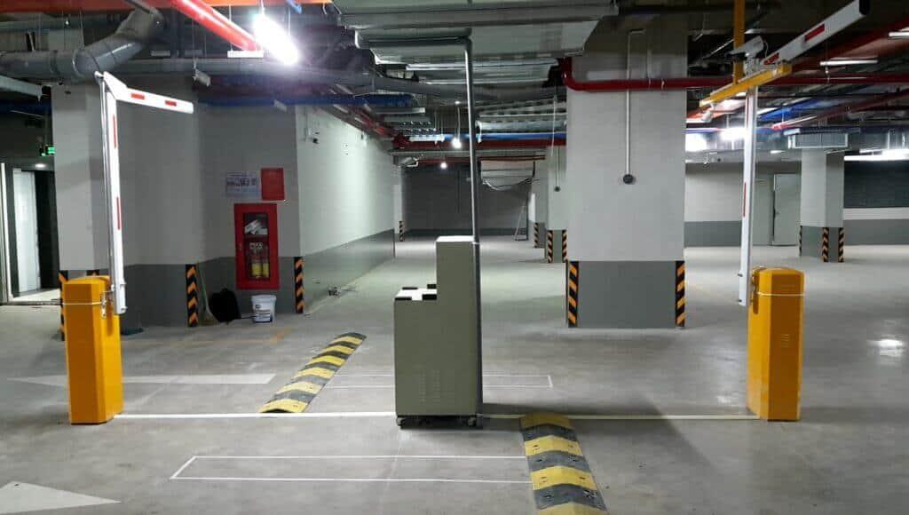 một số công trình hệ thống máy giữ xe do pth thi công lắp đặt