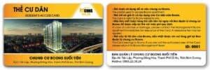 Thẻ từ cho cư dân