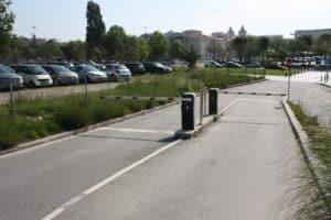 Lắp đặt barrier tự động Casit