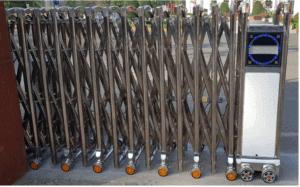 Lắp đặt cổng xếp inox tại quận 9