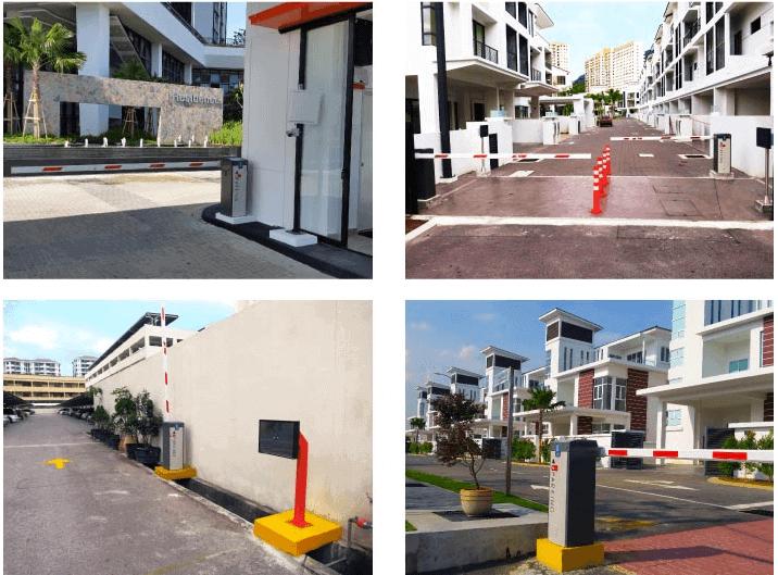 Lắp đặt barie tự động tại Phú Yên - Quy Nhơn - Bình Định