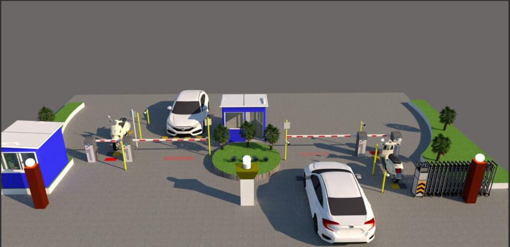 Thiết kế thiết bị kiểm soát bãi đỗ xe thông minh tại Vũng Tàu
