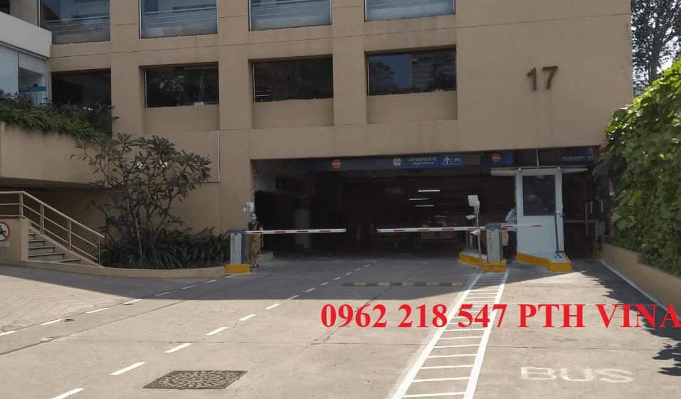 Hệ thống giữ xe thông minh lắp đặt cho khu khách sạn