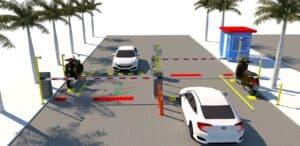 PTH dựng mô hình bãi xe