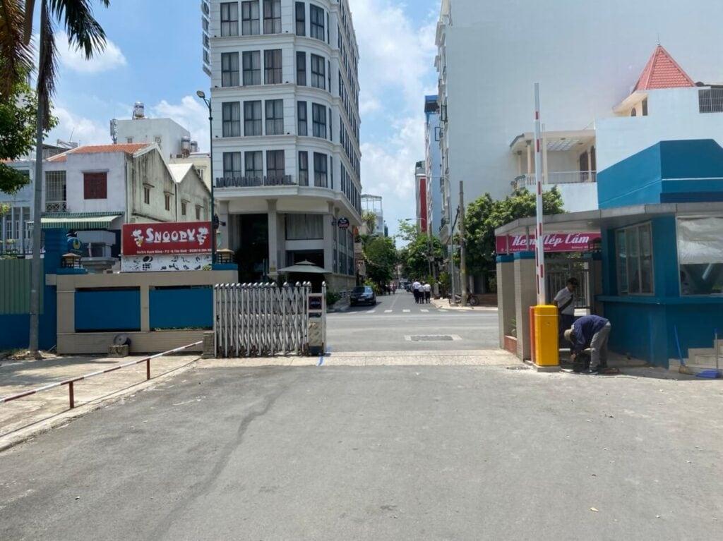 Giá barie tự động tại Đà Nẵng