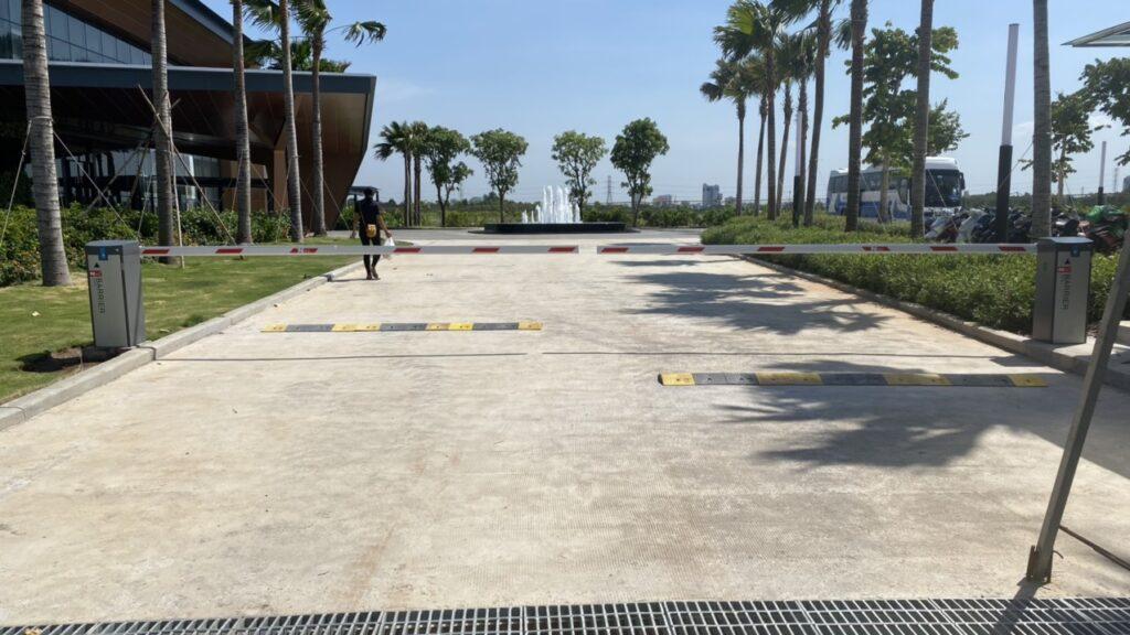 Barrier tự động tại Cam Ranh Nha Trang