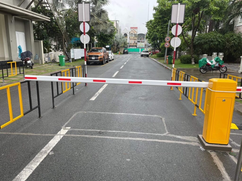 Lắp đặt barie tự động tại Đà Nẵng