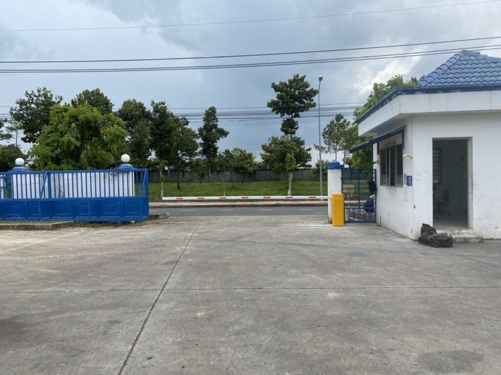 Barrier MAG lắp đặt tại Khu Nhà Xường cho thuê 2A, đường số 7, KCN Nhơn Trạch 2, tt Hiệp Phước, Nhơn Trạch, Đồng Nai.