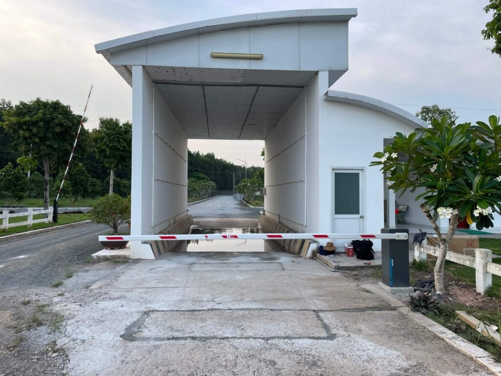 Lắp đặt barie tự động tại Tây Ninh - Bình Phước