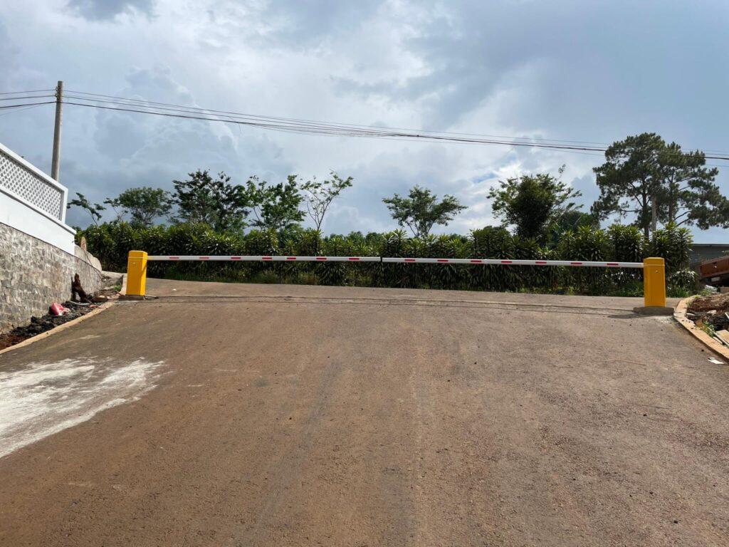 Lắp đặt barrier tự động tại Đà Lạt Lâm Đồng