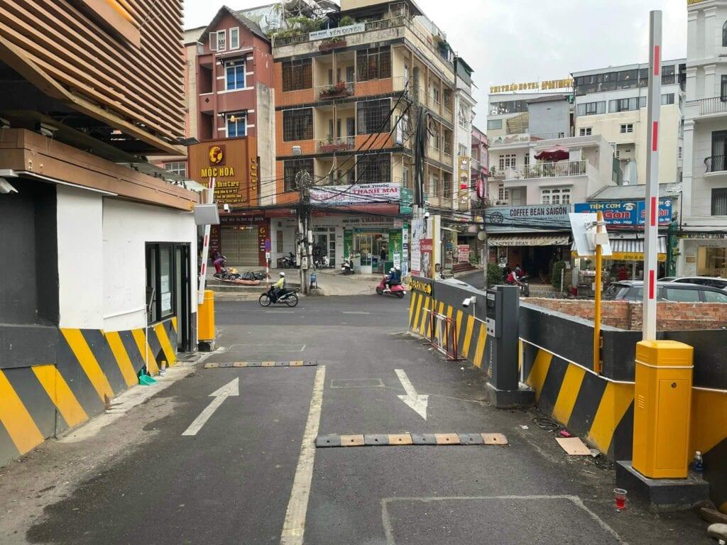 Giá barrier tự động tại Đà Lạt Lâm Đồng